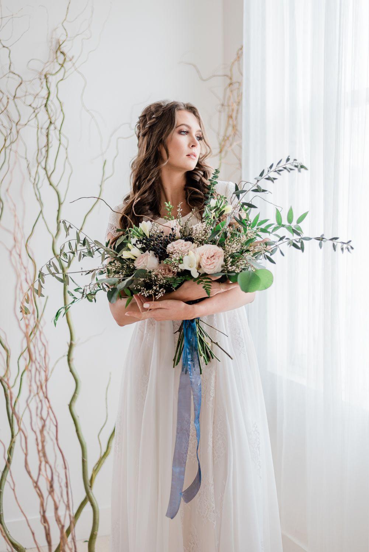 Editorial bridal photoshoot modest wedding gowns bridal