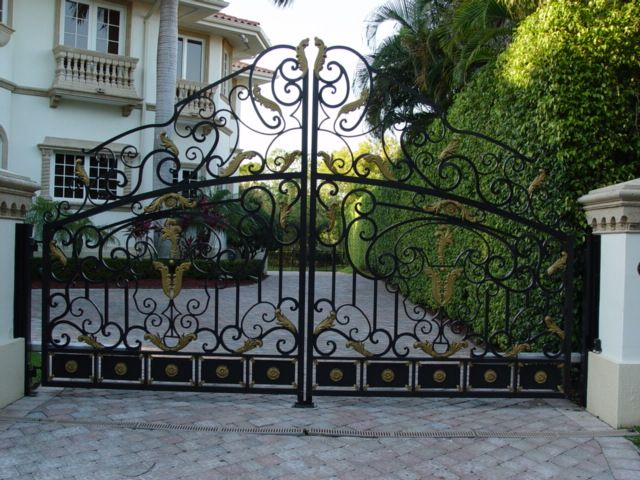 Traditional Wrought Iron Gates San Fernando Valley Los Angeles Iron Garden Gates Wrought Iron Gates Gate Design