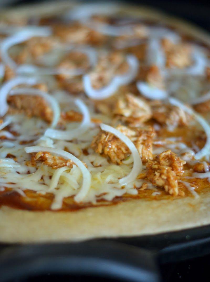 BBQ Thai Chicken Pizza Recipe | Luci's Morsels