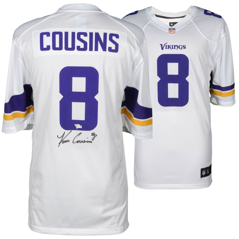 pretty nice 10500 a38b0 Kirk Cousins Minnesota Vikings Fanatics Authentic ...