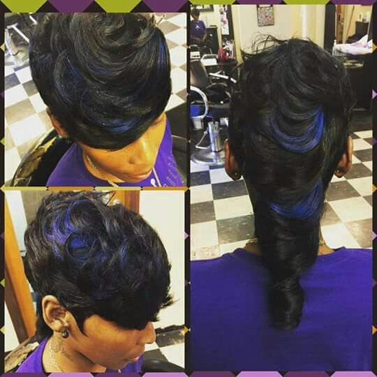 Mohawk More Quick Weave Hairstyles Sassy Hair Hair Styles