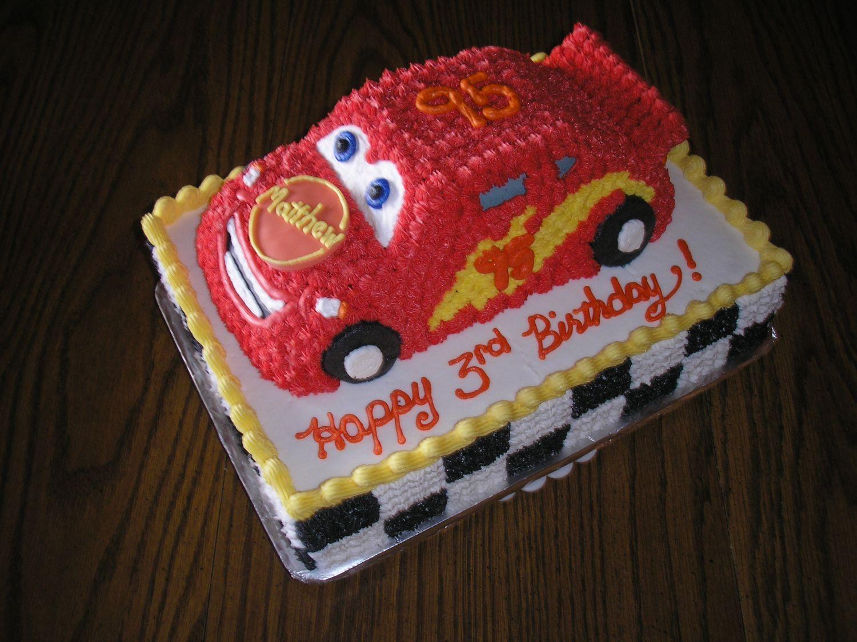 Cars Cake Children S Birthday Cakes Mcqueen Cake Cars Cake Design Cars Birthday Cake