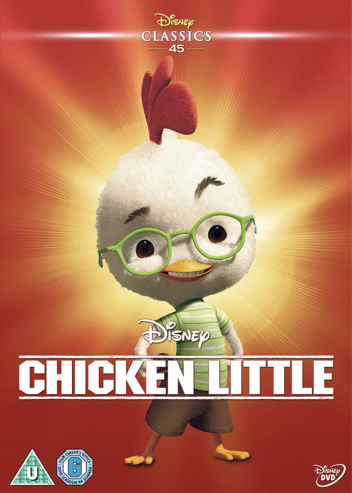 Chicken Little Reino Unido Dvd Reino Chicken Dvd Unido Chicken Little Peliculas De Disney Peliculas Dibujos Animados