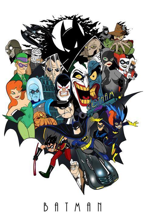 Batman The Animated Series Delfin Diaz Batman The Animated Series Batman Poster Batman Tattoo