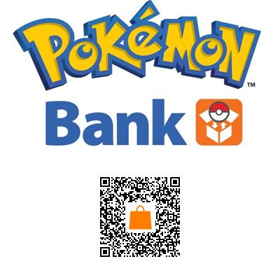 Pokemon Bank is out in North America! Scan the barcode above
