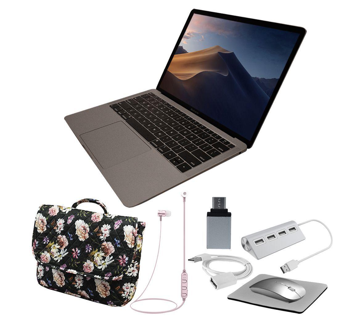 "New Apple MacBook Air Retina13"" 128GB Touch IDw/ Acc — QVC"