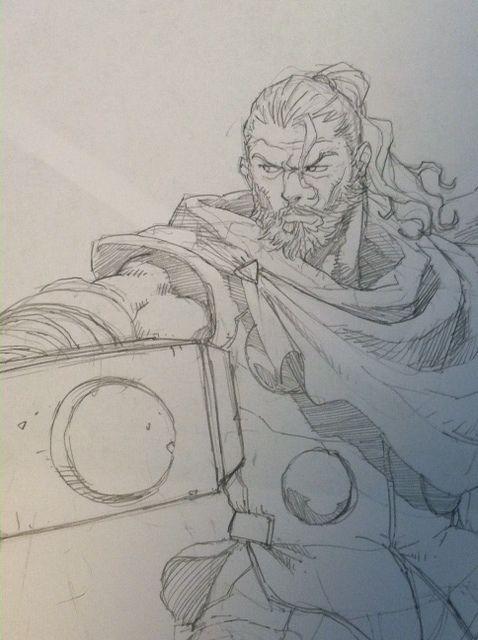 Thor by tincan21.deviantart.com on @DeviantArt