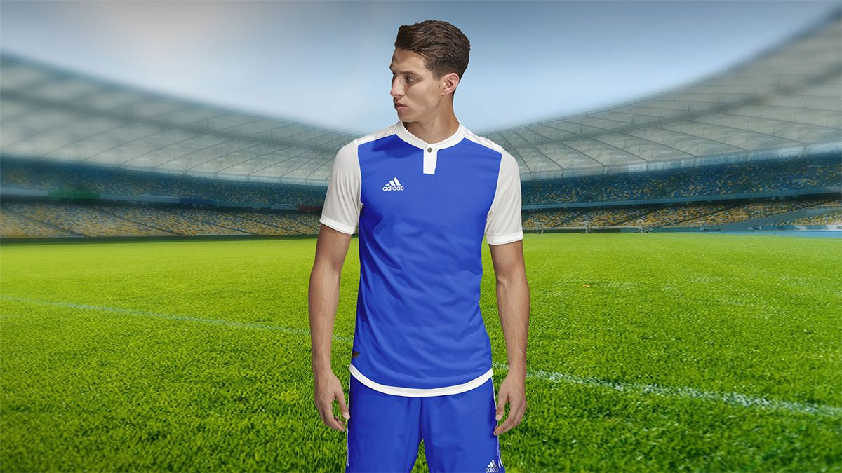 Download Free Adidas Style Soccer Jersey Mockup Psd Adidas Fashion Soccer Jersey Hoodie Mockup