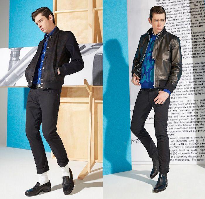 Maison Kitsun 233 2014 2015 Fall Winter Mens Lookbook