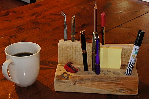 a pen stand - unpolished cypress strengthened with birch dowels -dsc02022-600x900.jpg