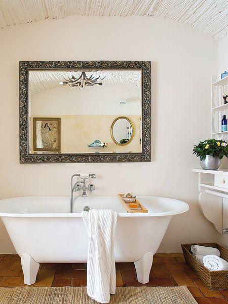 Bañeras con patas para soñar (con imágenes)   Casas de ...