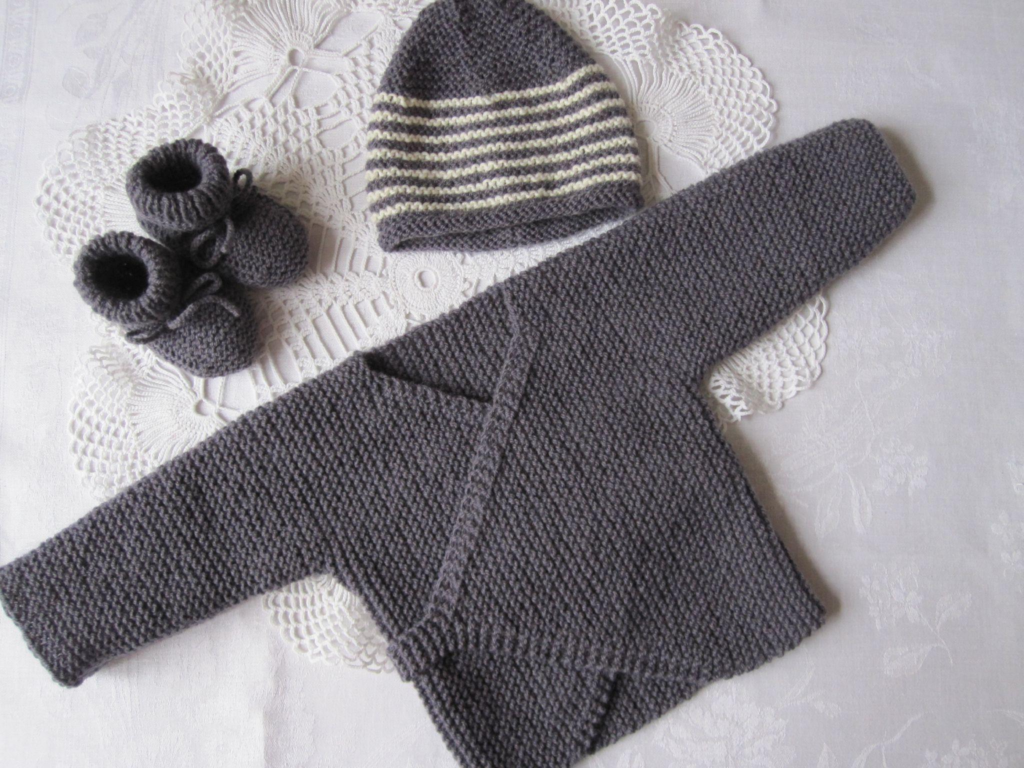tuto tricot layette naissance