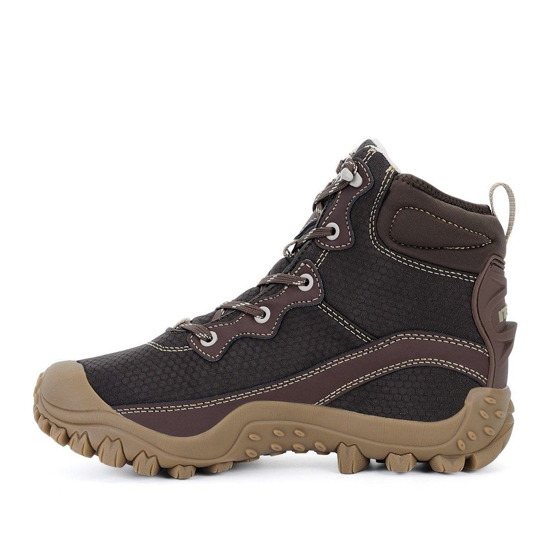5a1f1ae845c XPETI Womens Dimo Mid Waterproof Hiking Trekking Outdoor Boot Coffee ...