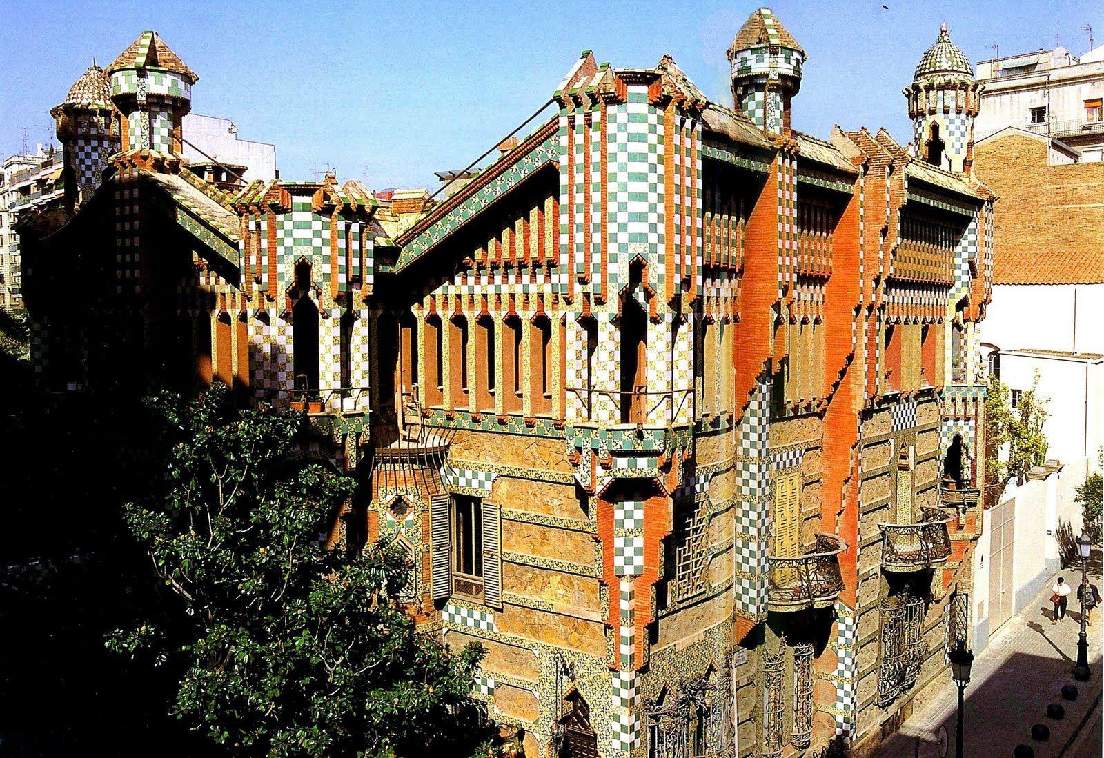Casa vicens is a family residence in barcelona designed - Casa modernista barcelona ...