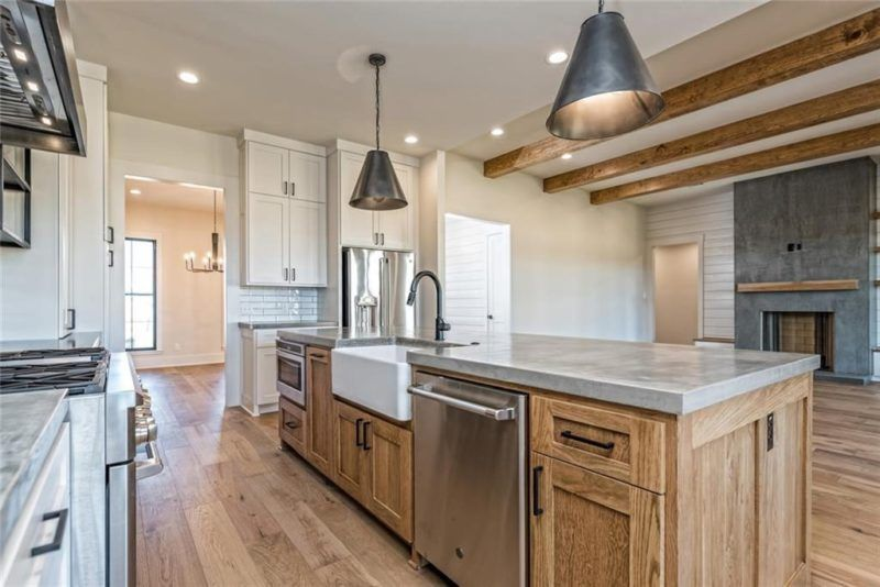 joanna gaines designed this new modern farmhouse for sale in texas joanna gaines kitchen on farmhouse kitchen joanna gaines design id=64800