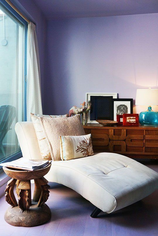 Color Warriors: Reader Rooms with Audacious Color   Queen anne ...