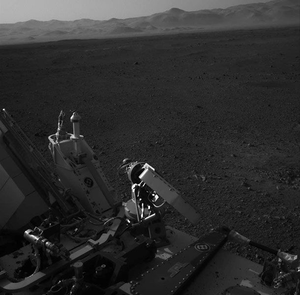 Gallery – Curiosity's triumphant first week on Mars   Bad Astronomy   Discover Magazine