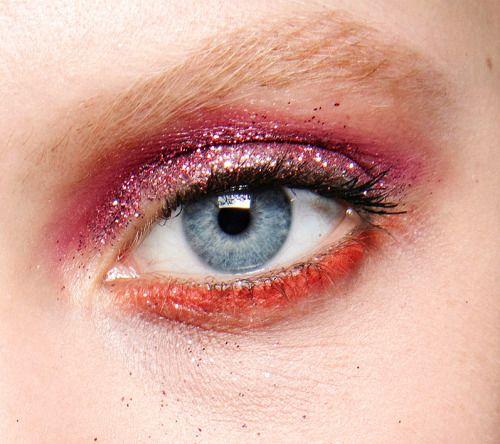 "runwayandbeauty: "" Make-Up Detail - Emanuel Ungaro Fall 2016-17, Paris Fashion Week. """