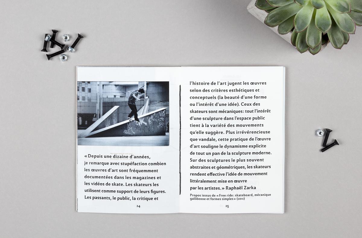 Le Skateboard: Vivier d\'Artistes on Behance   / editorials / covers ...