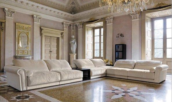 Aliexpress Com Buy White Sofa Fabric French Design 2015 New Living Room L Shaped Fabric Corner Modern Modern Fabric Sofa Sofa Design Italian Furniture Modern
