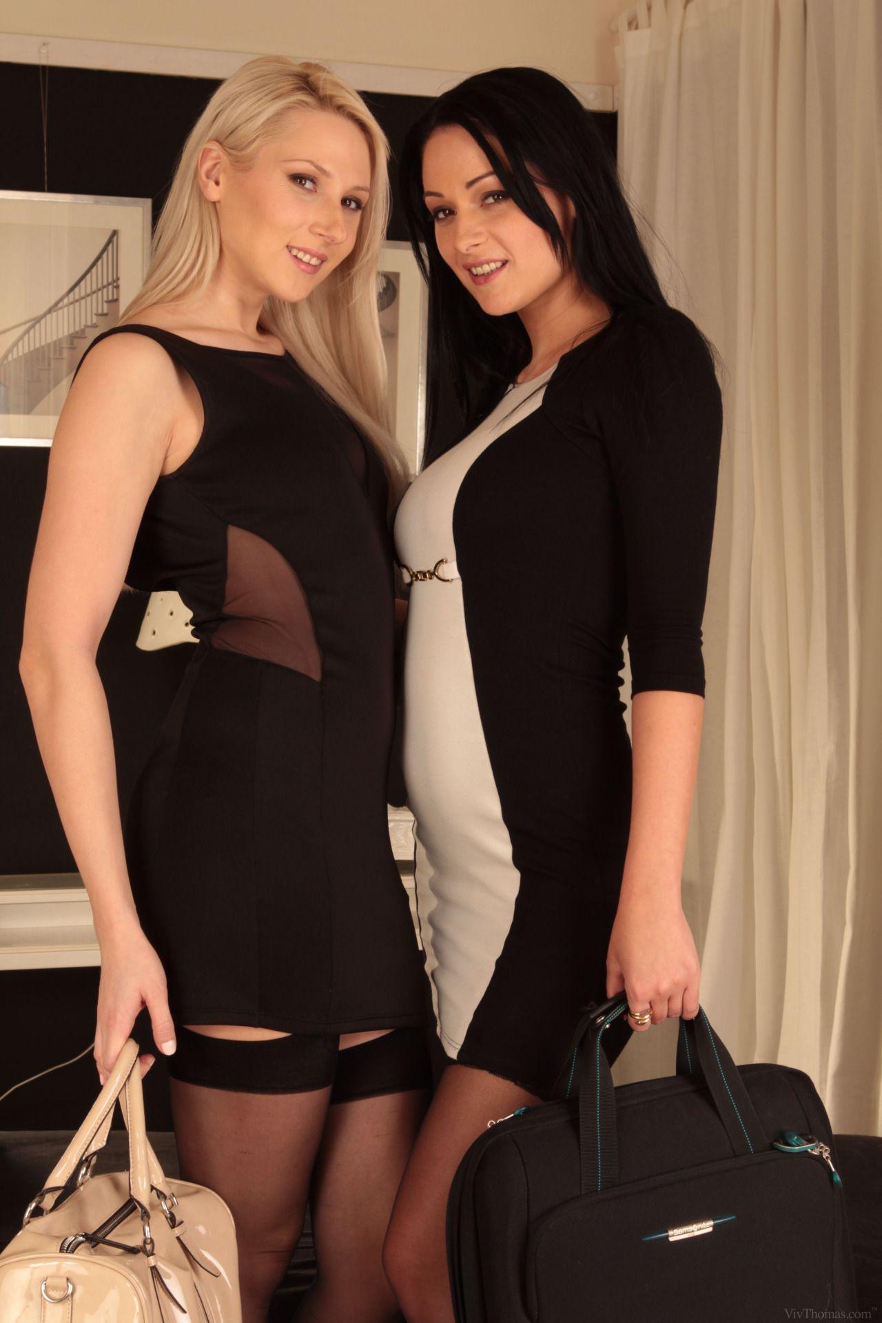 Lesbians Stockings 90