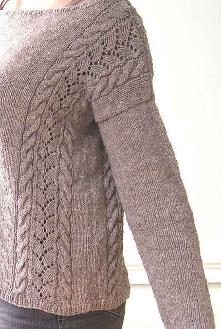 Ravelry: Teakwood Pullover pattern by Cecily Glowik MacDonald