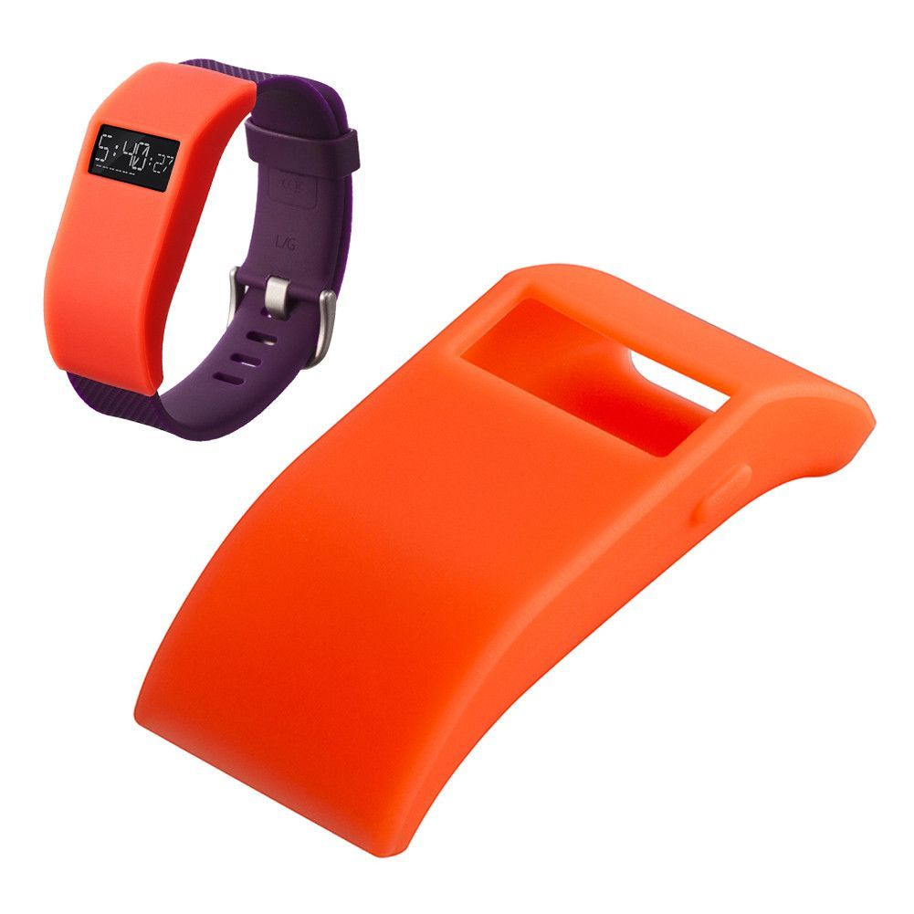 10 colors Silicone TPU cover Charge designer sleeve protector With dust plug function For Fitbit Force/Fitbit Charge HR