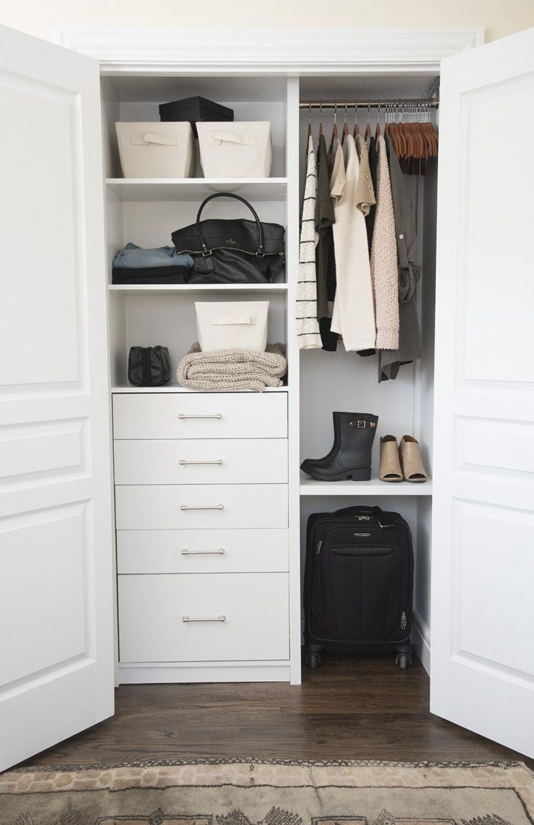 A Custom Closet For The Guest Room Guest Room Storage Small Guest Rooms Guest Room Office