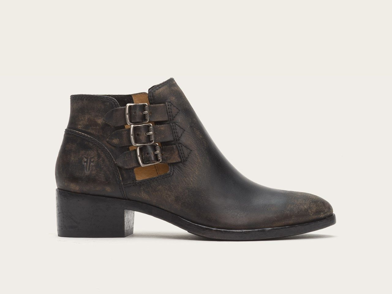 FRYE | Ray Belted Bootie - Black
