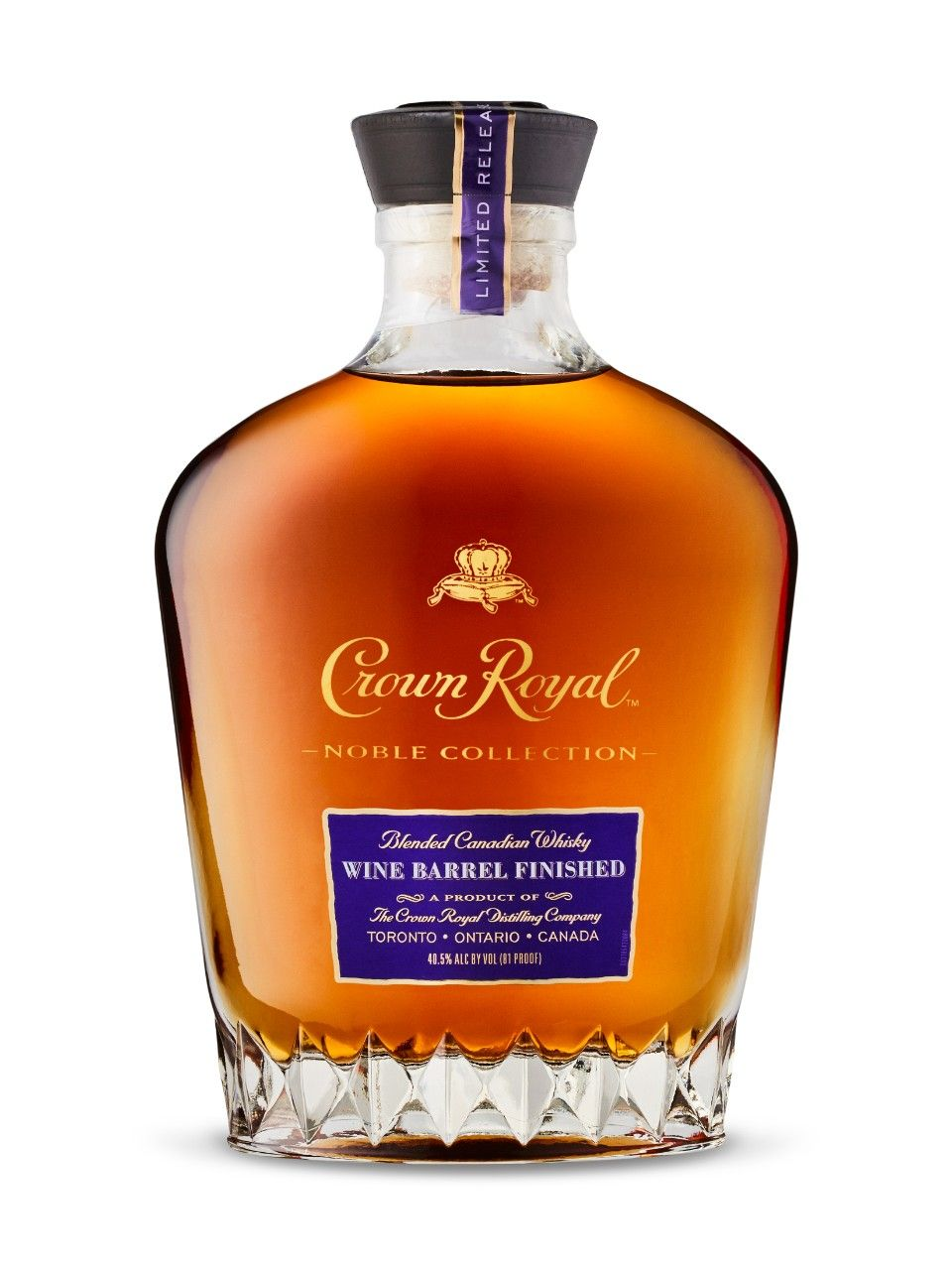 Crown Royal Wine Barrel Finished Noble Collection Whisky Wine Food Pairing Wine Collection