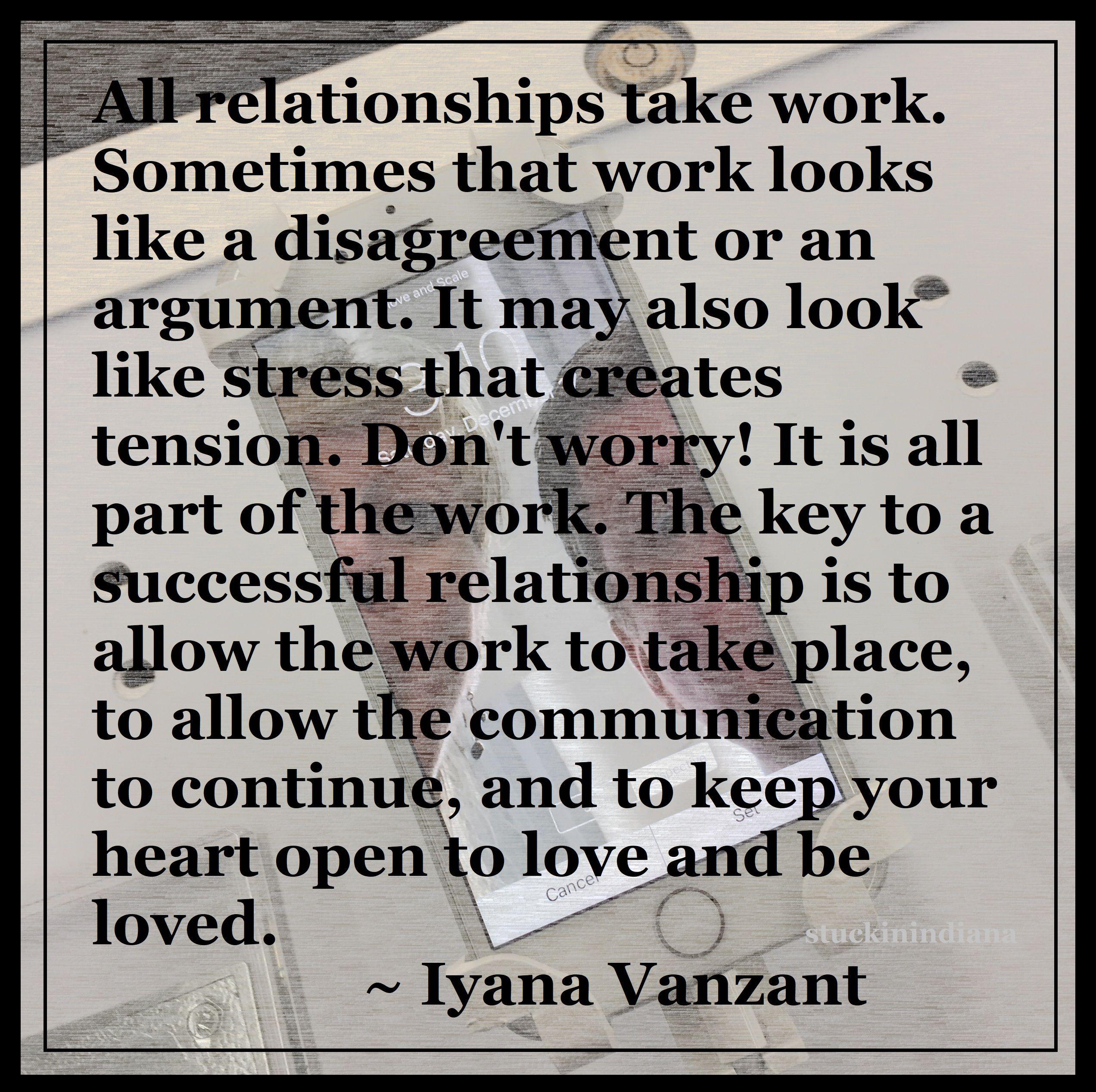 Do relationships take work