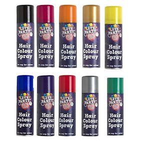 Wash Out Temporary Colour Hair Spray 125ml Coloured Hair Spray Hair Color Spray Temporary Hair Color Spray