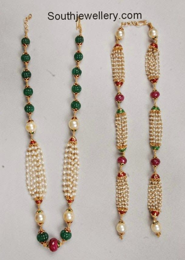 Image result for ruby beads jewellery designs | Suma jewellery ...