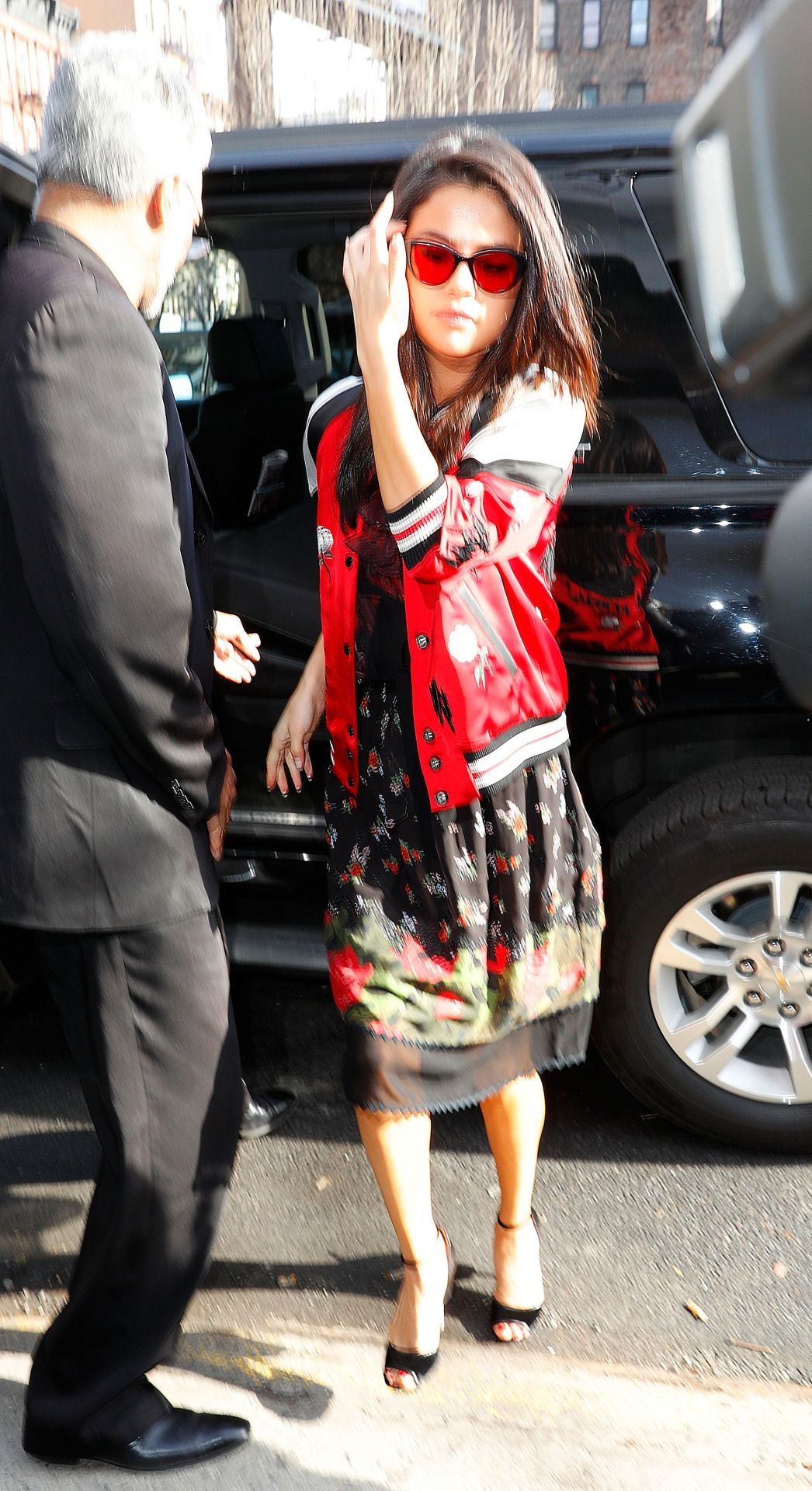 """February 8: [More] Selena arriving at a press event for the Netflix Series """"13 Reasons Why"""" in New York, NY [HQs]"""