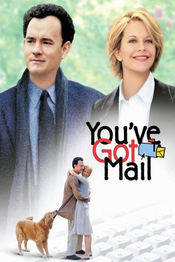You've Got Mail (1998)   http://www.getgrandmovies.top/movies/19472-you've-got-mail   In this valentine to modern romance, book superstore magnate Joe Fox and independent book shop owner Kathleen Kelly fall in love in the anonymity of the Internet - both blissfully unaware that he's trying to put her out of business.