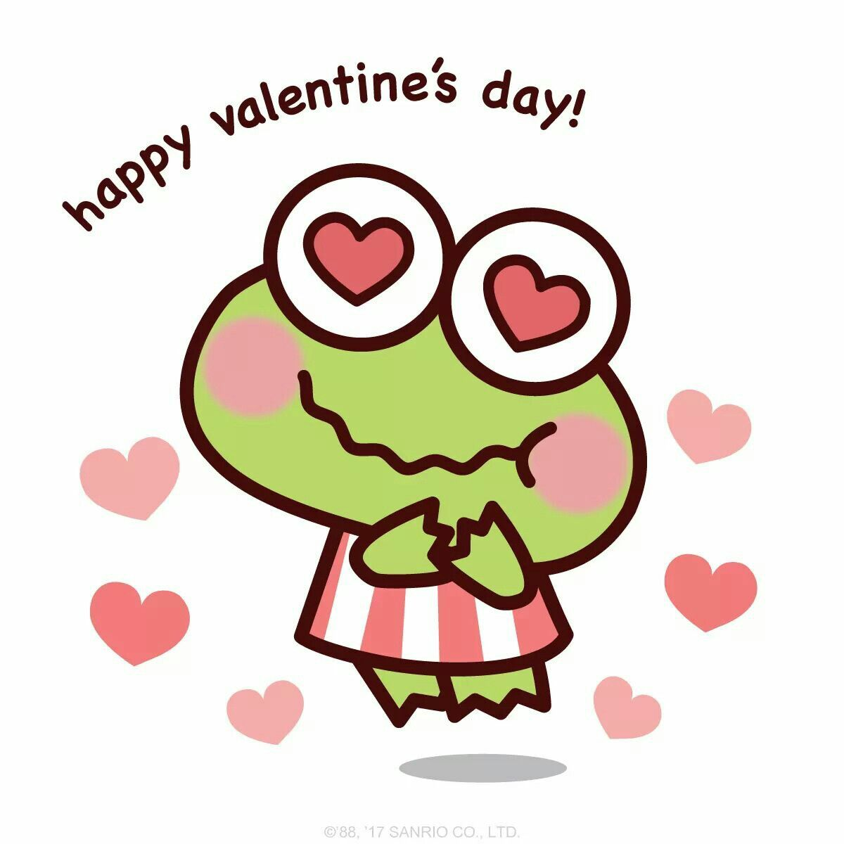 Happy Valentine\'s Day! | Keroppi | Pinterest | Sanrio and Hello kitty