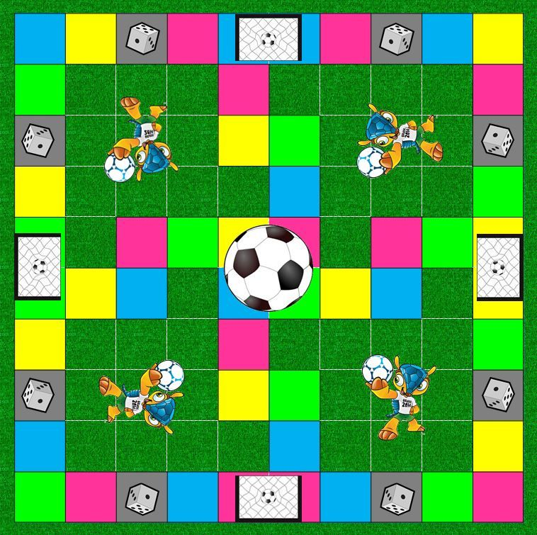 2014 World Cup board game Board games, World cup, Brazil