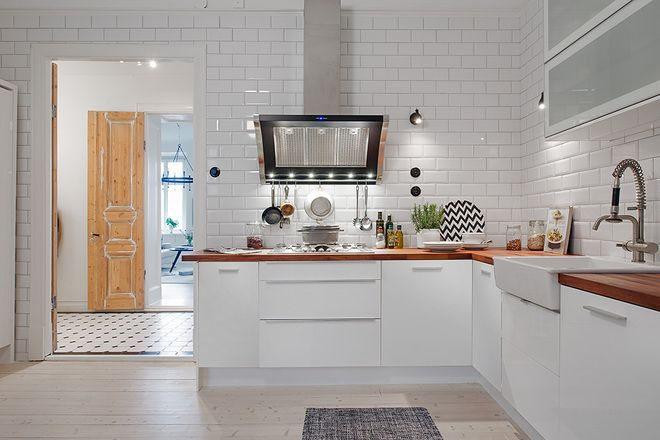 scandinavian style shaped kitchen cabinets decoration white cabinet design