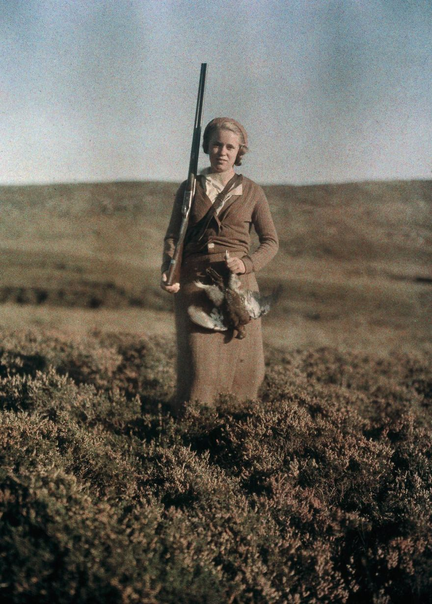 of the oldest color photos showing what the world looked like