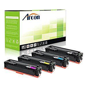 Arcon 4pk Compatible Hp 201x Cf400x Cf401x Cf402x Cf403x Toner Cartridge Replacement For Hp Color Las Printer Ink Cartridges Video Camera Photo Toner Cartridge