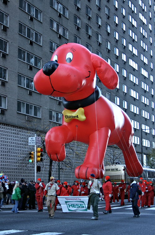 All Of The Dog Balloons In The Macy's Thanksgiving Day Parade – Ever