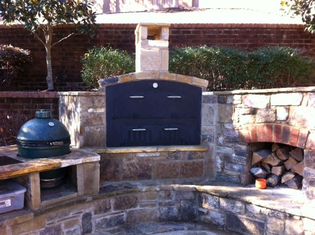 Built In Pizza Oven Memphis Tn Outdoor Decor Outdoor Living Hearth
