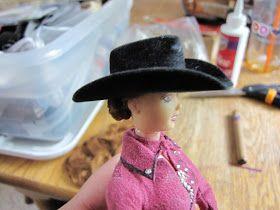 Field of Dolls Studio; Because Everybody Needs Dolls: The art of rehairing dolls