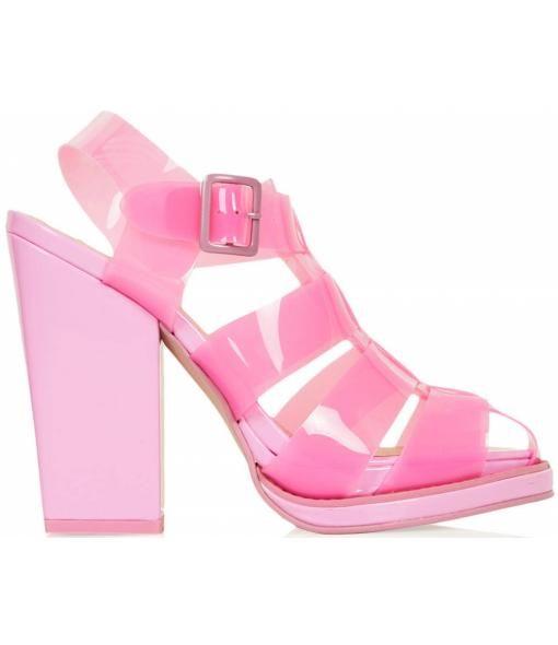 JuJu Skor Babe, Kvinnor Heels Sandals