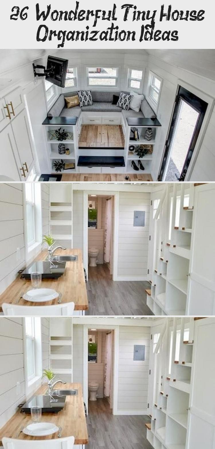 26 Wonderful Tiny House Organization Ideas Concluding Tiny Home Organization Ideas No Matter If You Are Just Starting Out And L Home Organization House Home Kitchens