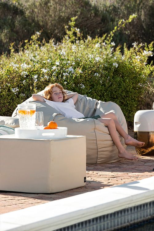 Sitzsack für den Garten und Terrasse, perfekt für draußen Outdoor