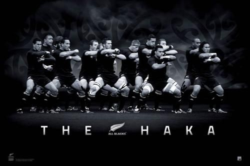 Beautiful black and white videos of the All Black's Haka