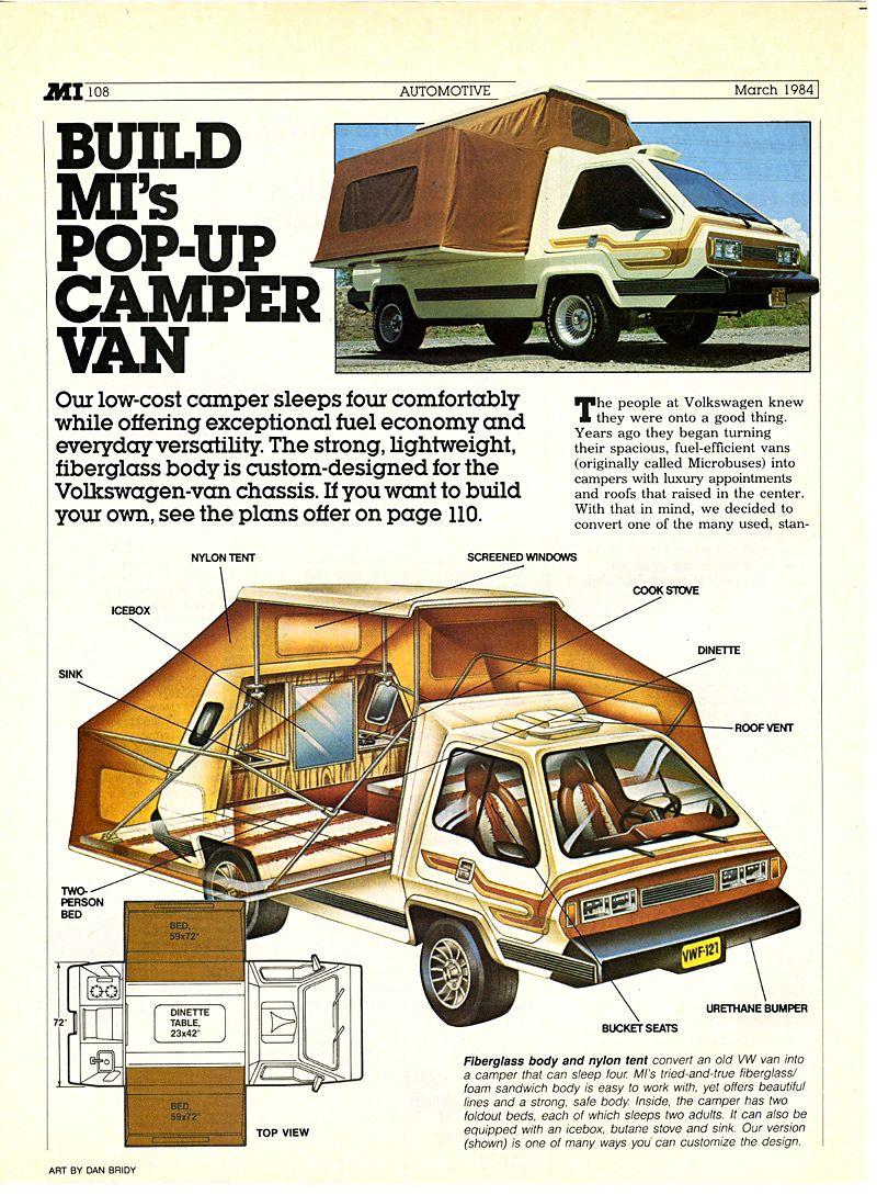 Carsthatnevermadeitetc - Phoenix 1973. A kit-c&er van based on a VW Microbus  sc 1 st  Pinterest & Carsthatnevermadeitetc - Phoenix 1973. A kit-camper van based on ...