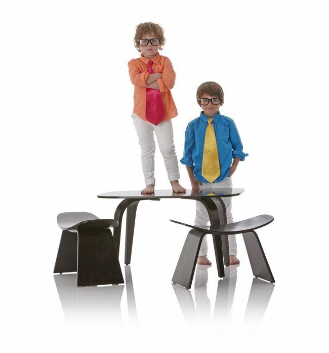 Little Nest Hamachi Table & Stools - CleverTomato.com