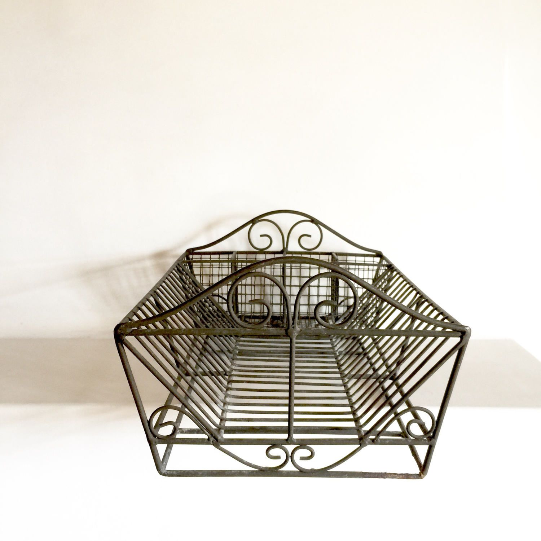 Wire Racks For Kitchen Storage French Vintage Dish Rack Dish Strainer Dish Drying Rack Iron